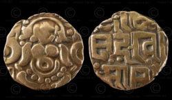 Monnaie or Rajput C178. Règne du roi Govinda Chandra