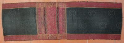 Mru skirt BU29. Mru group, Arakan state, Burma - Bangladesh.