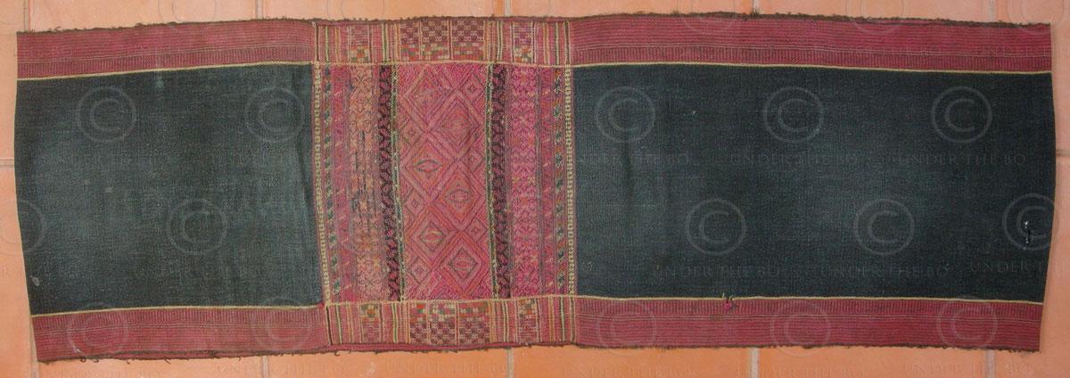 Mru skirt BU29. Mru group, Arakan state, Burma – Bangladesh.