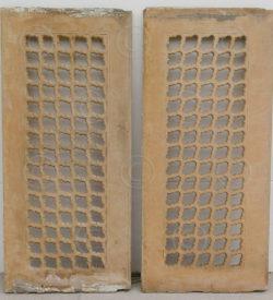 sandstone jali IN9. Shekhawati, Rajastan, India