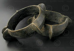 Nagaland bronze bracelets B165. Unknown tribal minority of Nagaland, North-East