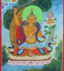 Peinture Népalaise contemporaine NeP6. Népal