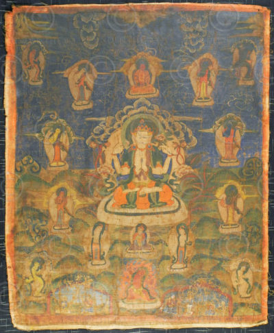 Newari paubha or thanka, Nepal