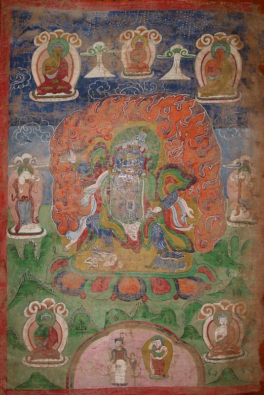 Nepali thangka Newari paubha NT7, Kathmandu valley, Nepal
