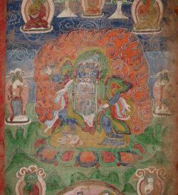 Thangka Newar NT7, vallée de Katmandou, Népal.