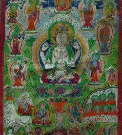 Nepali thangka Newari paubha NT9, Kathmandu valley, Nepal