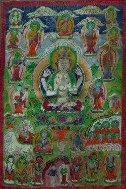 Thangka Newar NT9, vallée de Katmandu, Népal.