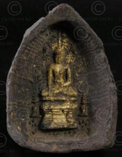 Offrande bouddhiste birmane BU318. Birmanie du nord.