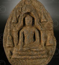 Offrande bouddhiste Lanna T313. Temple de Doi Kham, royaume du Lana (Thailande d
