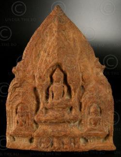 Offrande bouddhiste Lopburi T316B. Thailande.
