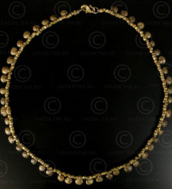 Orissa bronze necklace 586A. Kondh tribal culture. India