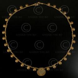 Orissa gold necklace 484