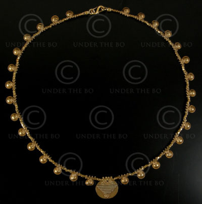 Orissa gold necklace 484