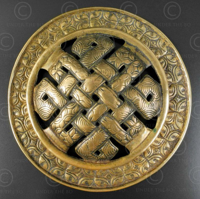 Ornement ceinture tibétain TIB177. Tibet.