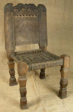 Kohistan chair PK42. upper Swat valley, northern Pakistan