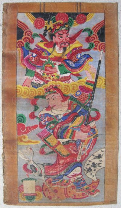 Peinture Zhuang 8606. Chine du sud.