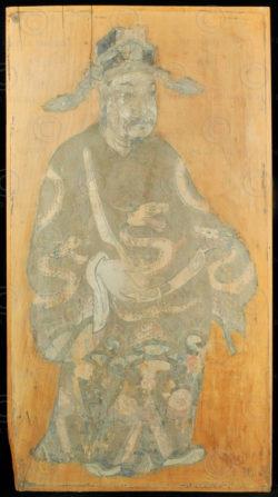 Peinture chinoise C81a. Sichuan, Chine.