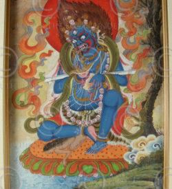 Peinture Népalaise contemporaine NeP4. Népal