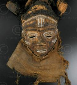 Pende mask R2. Congo (DRC).