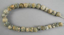 Perles antiques yeux romains BD283. Trouvées au Mali, Afrique de l'ouest