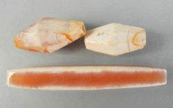 Perles cornaline birmanes BD243. Cités-états birmans.