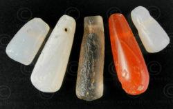 Perles en goutte antique 13SH17. Bactriane, Afghanistan du nord.