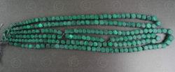 Perles malachite NBD1. Inde.
