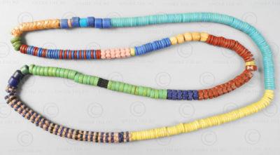 Perles troc vénitiennes BD153. Fabriquées à Murano, Venise et trouvées en Afriqu