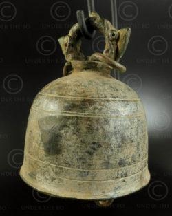 Petite cloche thaie T409C. Siam (Thaïlande).
