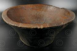 Plat Batak bois ID14. Culture batak, île de Samosir, Sumatra, Indonésie.
