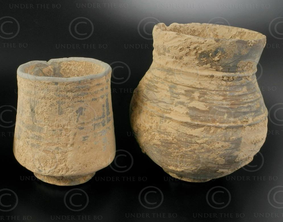 Poteries terre cuite Gandhara SW12. Ancien royaume de Gandhara (Pakistan).