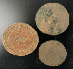 Pyu bone seals BU468A. Burma.