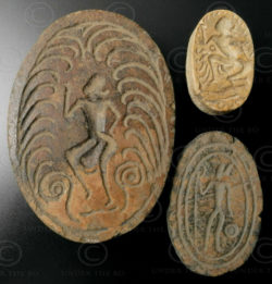 Pyu bone seals BU468D. Burma.
