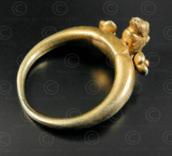 Pyu gold ring R296. Period of the Pyu city-states/Tircul of Burma.