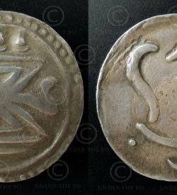 Pyu silver coin C31. Pyu city-states (Burma).