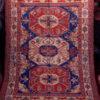 Kazak sumak Z177. Woven Caucasian carpet.