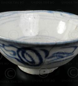 Qing porcelain Bowl T225B. Imperial China.