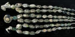 Roman glass beads BD79, 3 strands, Afghanistan