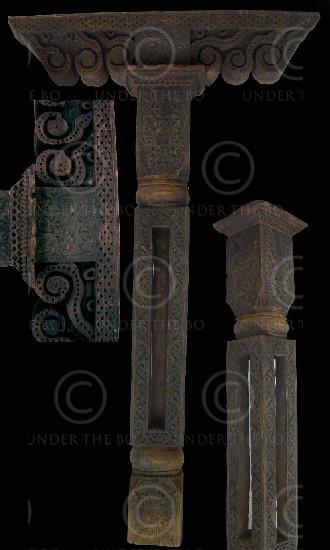 Rustic column FC52. Swat Kohistan, Northern Pakistan.