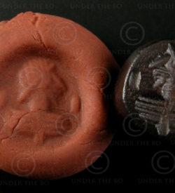Sasanian hematite seal SH66B. Afghanistan.