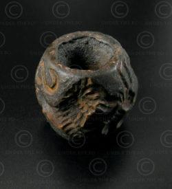 Sceau Bactriane bronze 13SH3B. Nord de l'Afghanistan, anciennement royaume de Ba