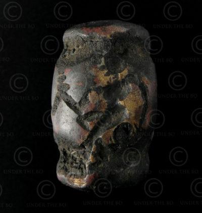 Sceau kouchan bronze AFG77B. Bactriane, Afghanistan du nord.