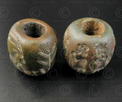 Sceaux-cylindres bronze Bactriane BD270E. Nord de l'Afghanistan, anciennement ro