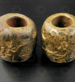 Sceaux-cylindres bronze Bactriane BD270C. Nord de l'Afghanistan, anciennement ro