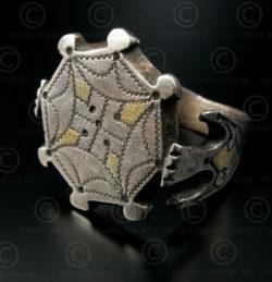 Seljuq silver ring R237A. Afghanistan.