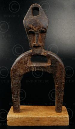 Senufo slingshot 12OL03C. Senufo culture, Ivory Coast, West Africa.