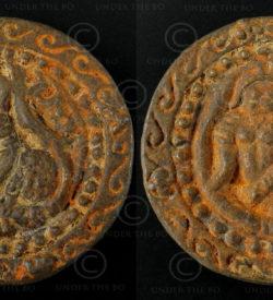 Siam bronze token C311D. Siam (Thailand).