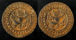Siam bronze token C311B. Siam (Thailand).