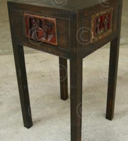 Side table FV101A. Manufactured at Under the Bo workshop.
