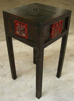 Side table FV101D. Manufactured at Under the Bo workshop.